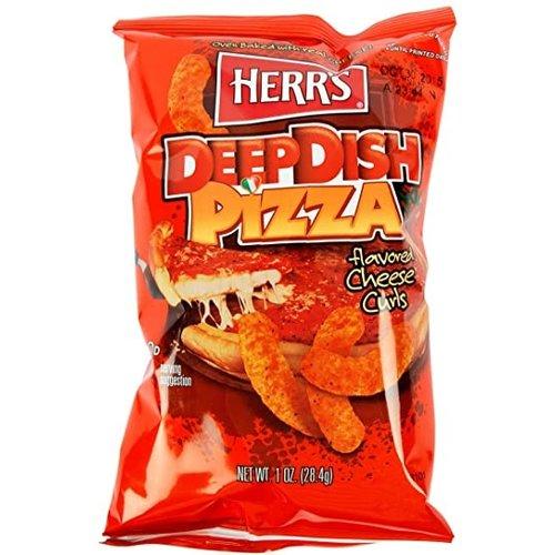 Herr's Deep Dish Pizza Cheese Curls, 28g