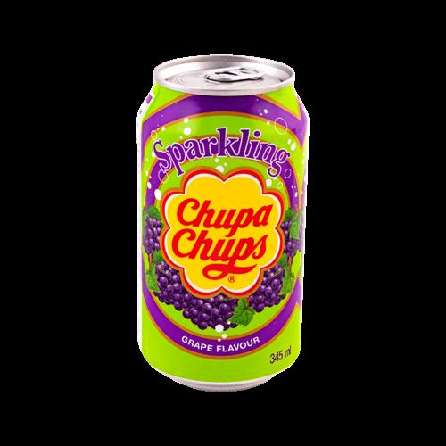 Chupa Chups Sparkling Grape Soda, 345ml