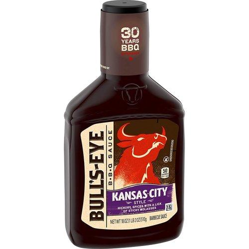 Bull's Eye Bull's Eye Kansas City BBQ Sauce, 510g