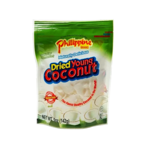 Philippine Brand Dried Young Coconut Snack, 142g