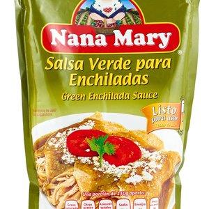 Nana Mary Salsa Enchilada Verde, 400g