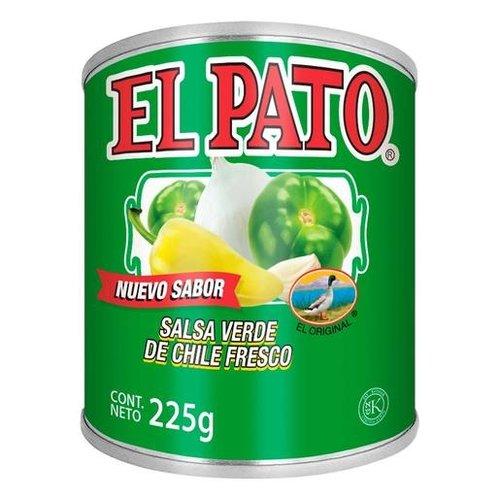 El Pato Salsa Verde de Chile Fresco, 225g