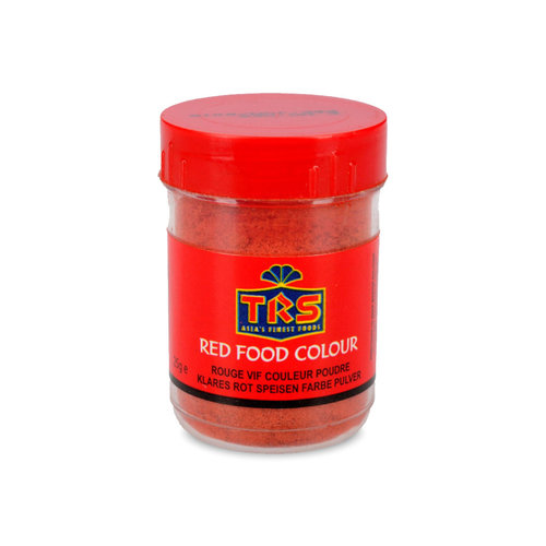 TRS Red Food Colour, 25g