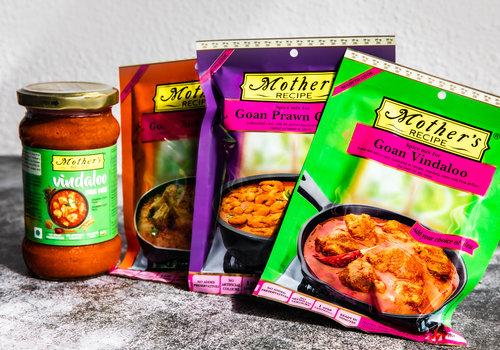 Curry Pasta's