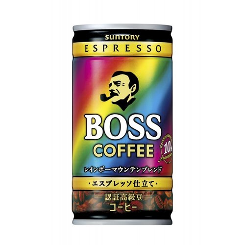 Boss Rainbow Maintain Blend Espresso, 185g