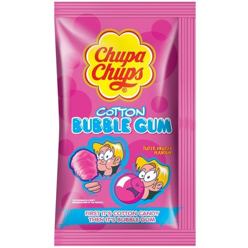 Chupa Chups Cotton Bubble Gum, 11g