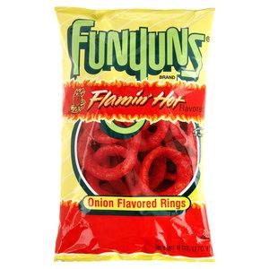 Frito Lay Funyun's Flamin Hot, 163g