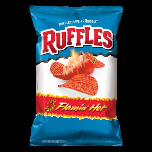 Frito Lay Ruffles Flamin Hot, 184g