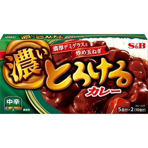 S&B Home Style Curry Extra Spicy, 180g