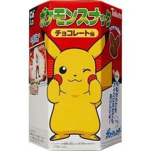 Tohato Pokemon Chocolate Cookies, 23g