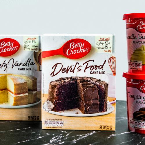 Heerlijke Amerikaanse taarten maken met Betty Crocker cake mixes!