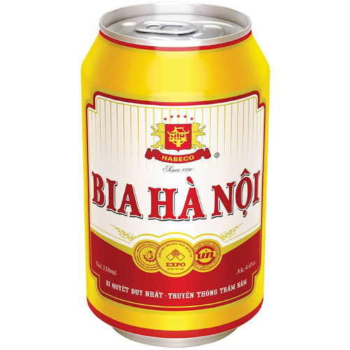 Bia Hanoi Beer, 330ml