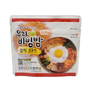 Easybab Woori Bibimbap Kimchi Flavor, 100g