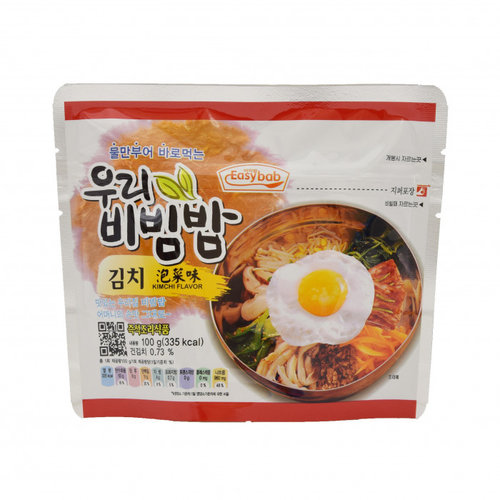 Woori Bibimbap Kimchi Flavor, 100g