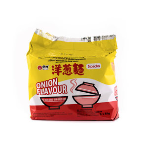 Wei Lih Taiwan Instant Noodles Onion Flavour, 5x85g