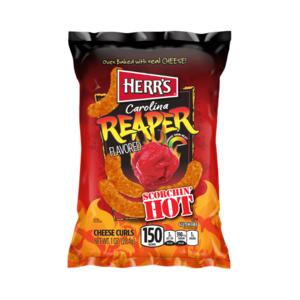 Herr's Carolina Reaper Flavored Cheese Curls, 28g