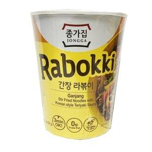 Jongga Instant Rabokki Teriyaki Noodles, 82g