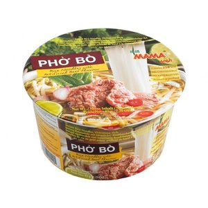 MAMA Instant Pho Bo Rice Noodles, 65g