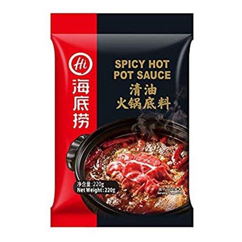 Haidilao Haidilao Spicy Hot Pot Seasoning, 220g