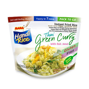 MAMA Instant Rice Green Curry Fish, 80g