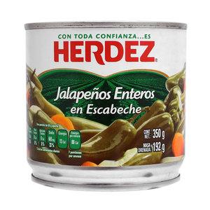 Herdez Jalapenos Enteros, 350g
