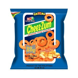 Cheez Zum Cheese Ring Snack, 25g