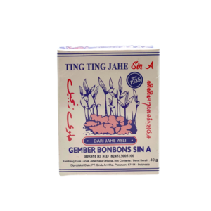 Sin-a Ting Ting Ginger candy, 40g