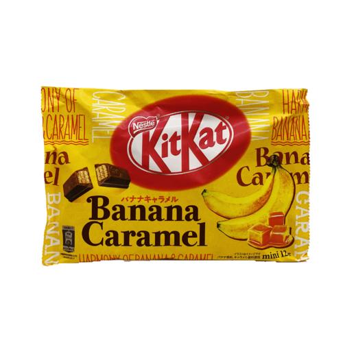 Nestle Kit Kat Banana Caramel, 118g