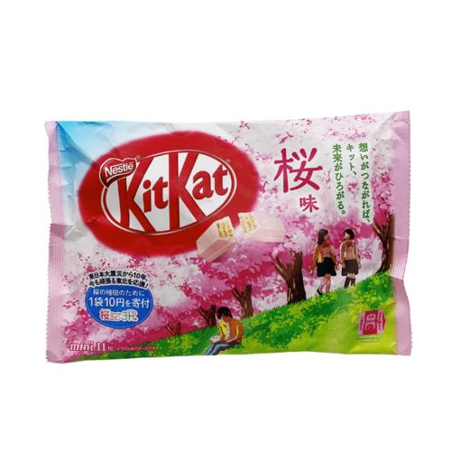 Nestle Kit Kat Sakura Flavor, 108g