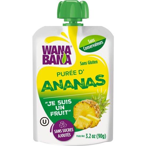 Wanabana Ananas Puree, 90g