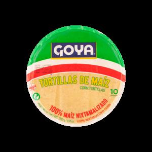 Goya Tortillas de Maiz, 10pcs