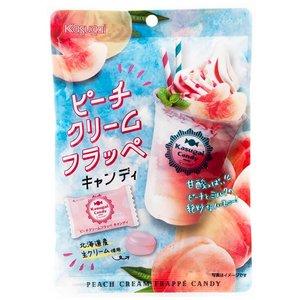 Kasugai Peach Cream Frappe Candy, 80g