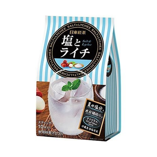 Nittoh Instant Salt & Lychee Ice Tea, 100g