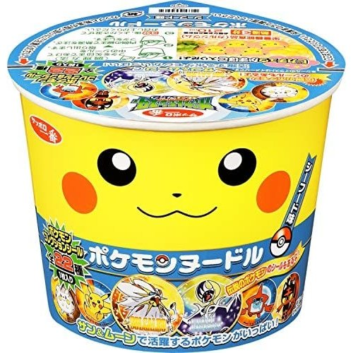 Sanyo Instant Pokemon Noodle Seafood, 37g