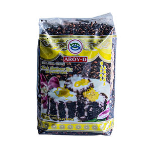 Aroy-D Black Glutinous Rice, 1kg