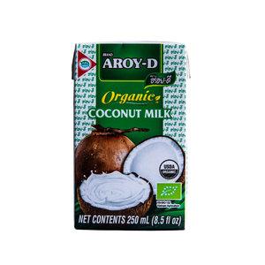 Aroy-D Biologische Kokosmelk, 250ml