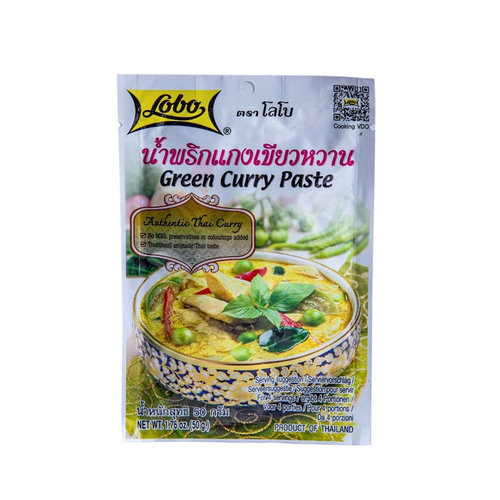 Lobo Green Curry Paste, 50g