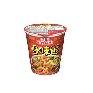 Nissin Instant Cup Noodles Prawn Flavor, 75g