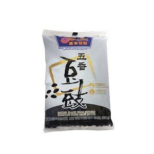 Koon Chun Salted Black Beans (Spiced), 454g