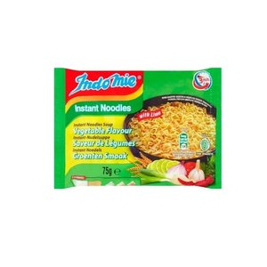 Indomie Instant Noodles Vegetables With Lime, 75g