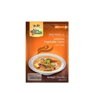 Asian Home Gourmet Vegetable Curry, 50g