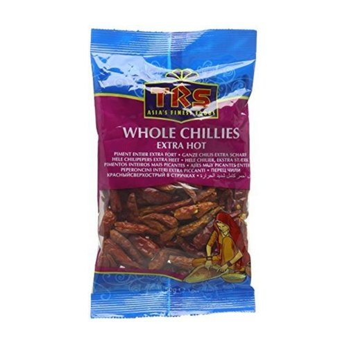 TRS Whole Chillies Extra Hot, 50g