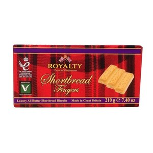 Royalty Shortbread All Butter Biscuits, 210g
