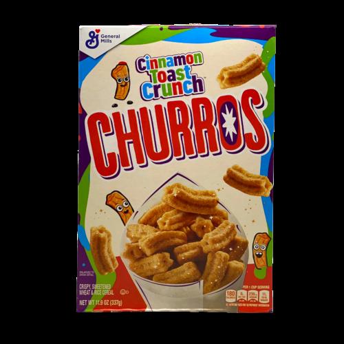 General Mills Cinnamon Toast Crunch Churros, 337g