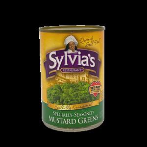 Sylvia's Sylvia's Seasoned Mustard Greens, 411g