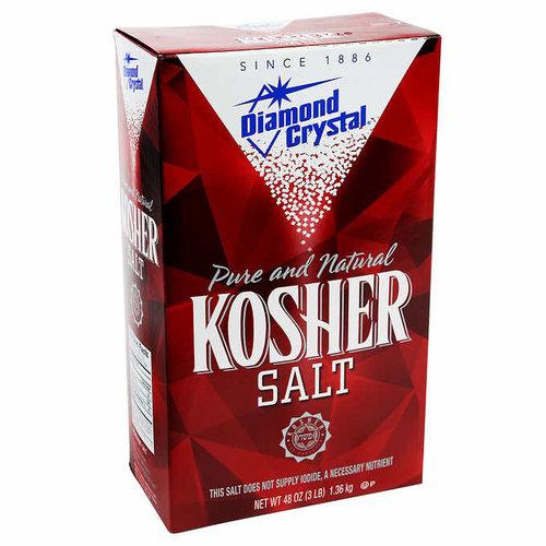 Diamond Crystal Kosher Salt, 1.36kg