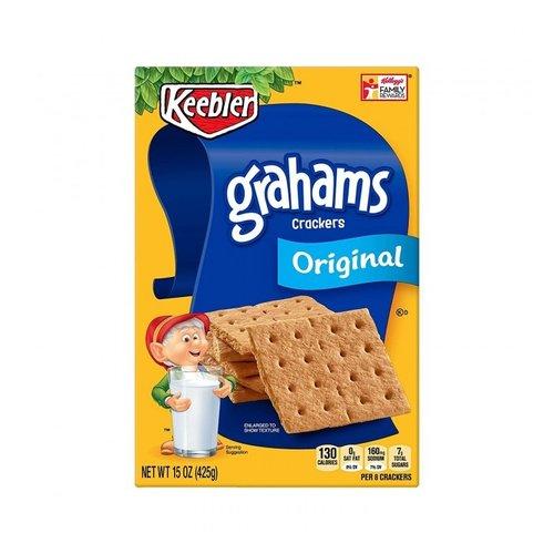 Keebler Grahams Crackers Original, 425g THT 27-07-21