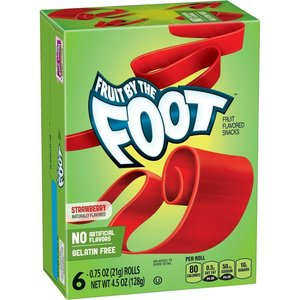 Betty Crocker Fruit By The Foot Strawberry, 128g