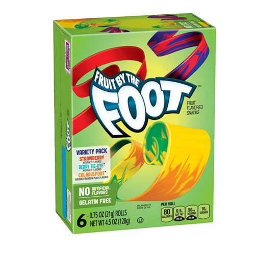Betty Crocker Fruit By The Foot Variety, 128g