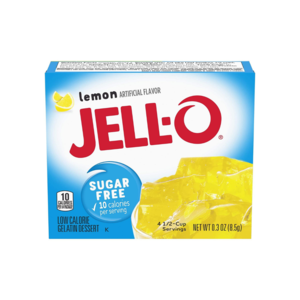 Jello Jell-O Sugar Free Lemon, 8g